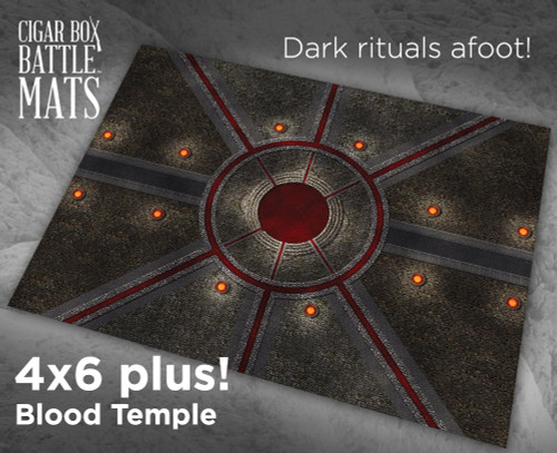 Battle Mat - Blood Temple