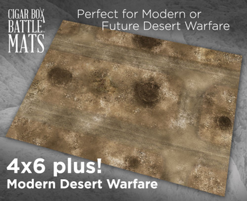 Battle Mat - Modern Desert Warfare