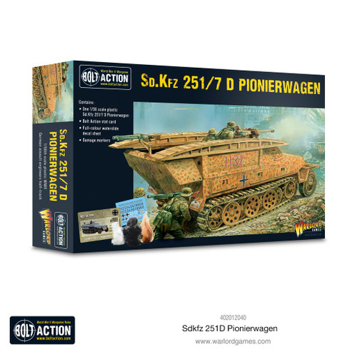 Bolt Action: German Sd.Kfz 251/7 D Pionierwagen (plastic)