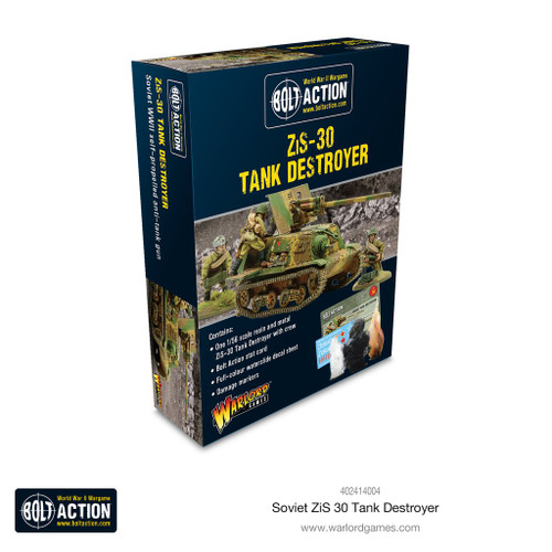 Bolt Action: Soviet ZIS-30 Tank Destroyer