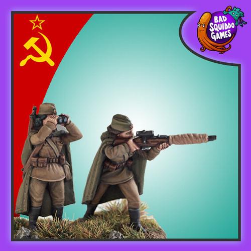 Soviet Female Sniper Team (Standing)