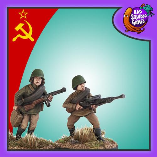 Soviet Female LMG Team