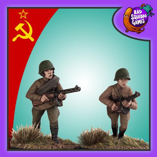 Soviet Female SMG (2)