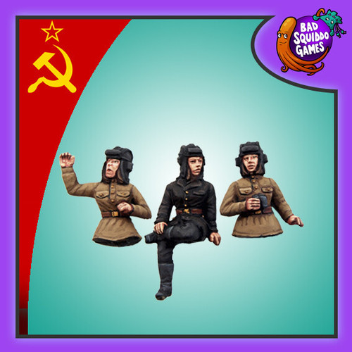 Soviet Female Tank Commanders (3)