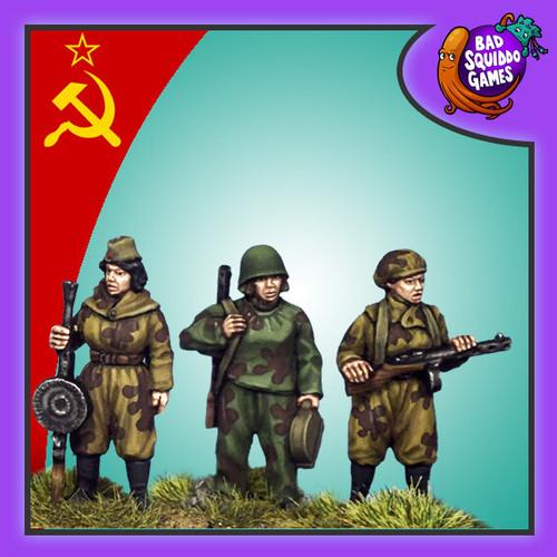Soviet Female Scouts B (smg, lmg set)