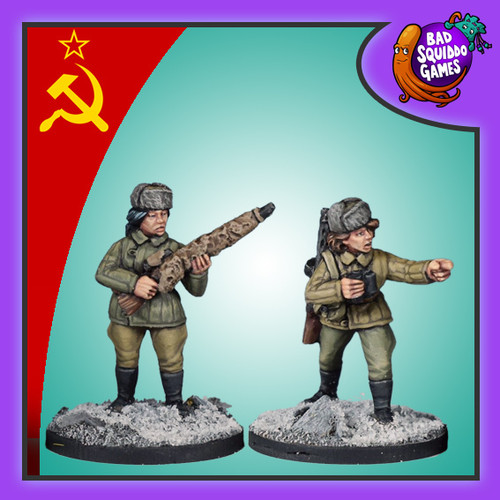 Soviet Female Sniper Team (Winter)