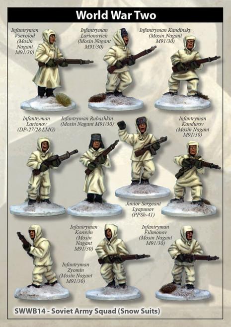 Soviet Army Squad (Snow Suits)