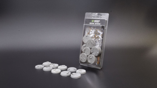 Gamers Grass - Rocky Fields bases, 10 pieces, resin bases, round, 32 mm
