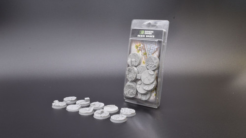 Urban Warfare Resin Bases - Round 32mm (x10)