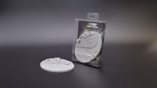 Urban Warfare Resin Bases - Oval 120mm (x1)
