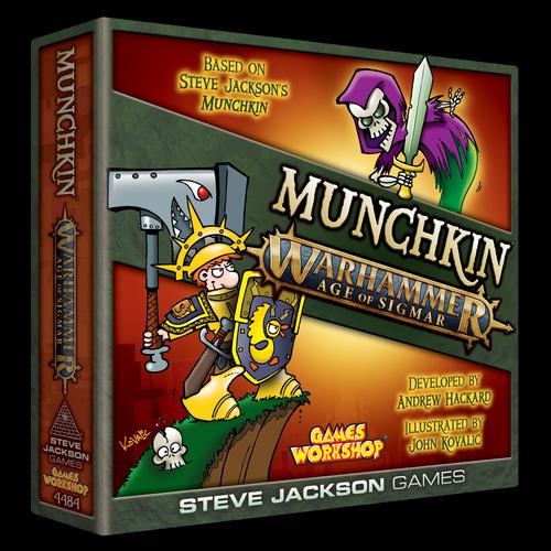 Munchkin: Munchkin Warhammer Age Of Sigmar