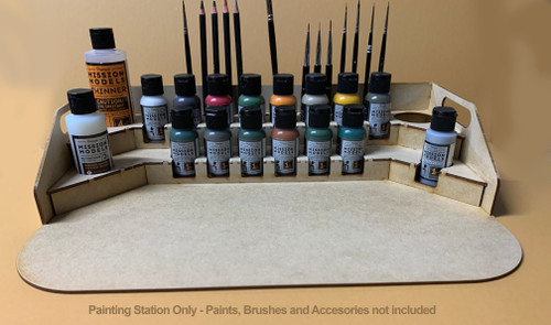 Painting Station - for 1oz Mission Models Premium Hobby Paints