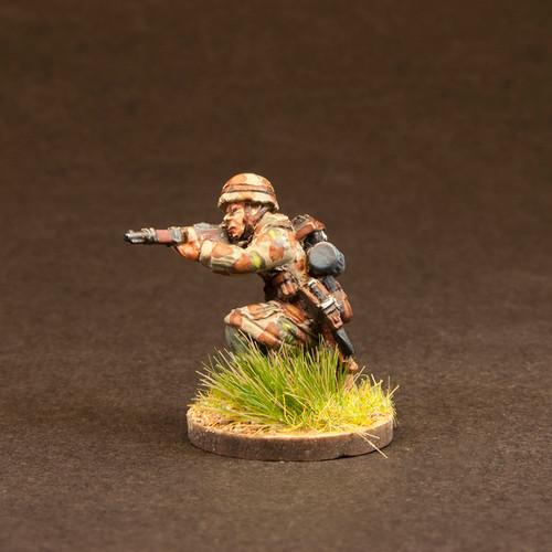 Fallschirmjaeger Prone/Kneeling  (6/Pk)