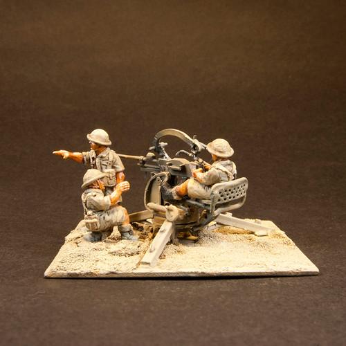 8th Army Breda + crew (3/Pk)