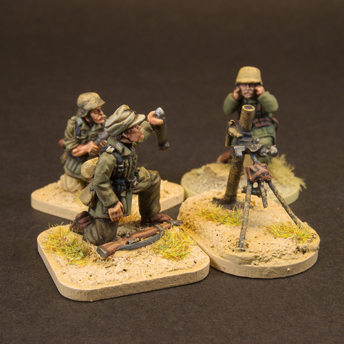 DAK 50mm + 81mm Mortar Teams (6/Pk)
