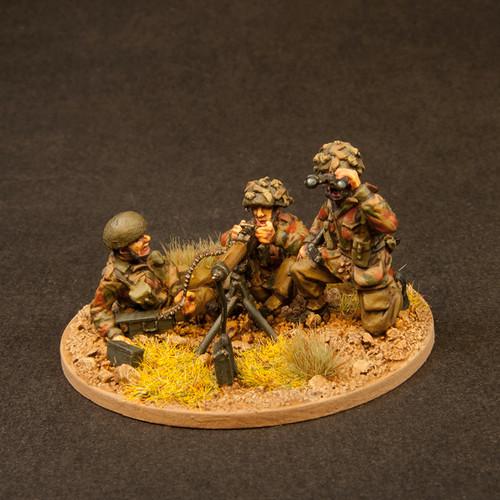 "Brit Paras - Fire Support 1 (HMG & 3"" Mortar) (6/Pk)"