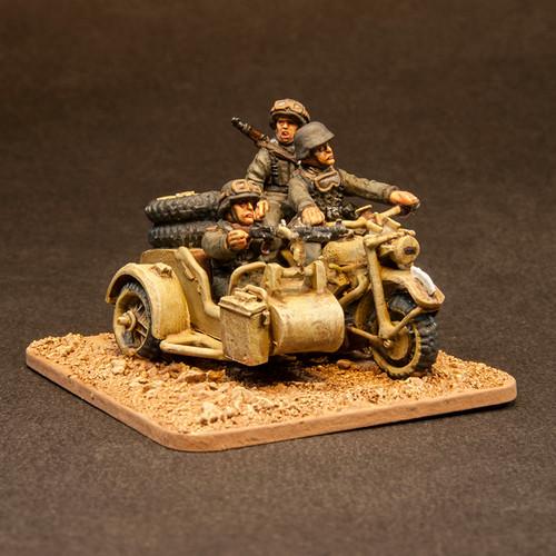 German motorcycle recce team