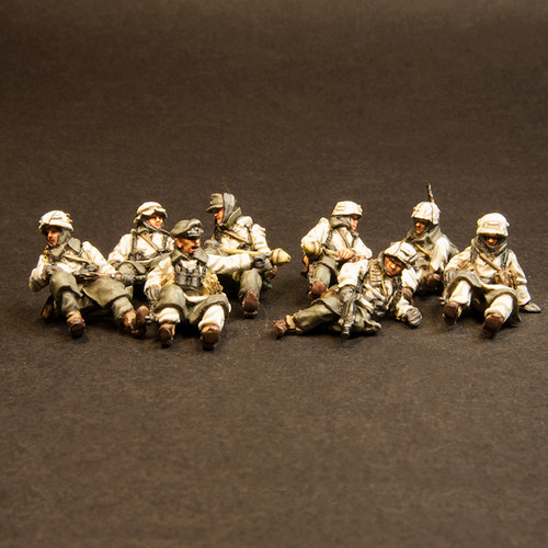 German Winter Tank Riders (8/Pk)