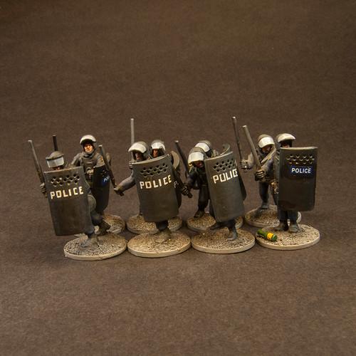 Police Shield Wall (8/Pk)