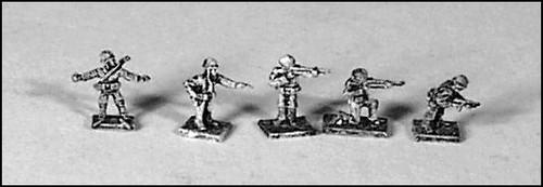 Individual US Infantrymen - US76