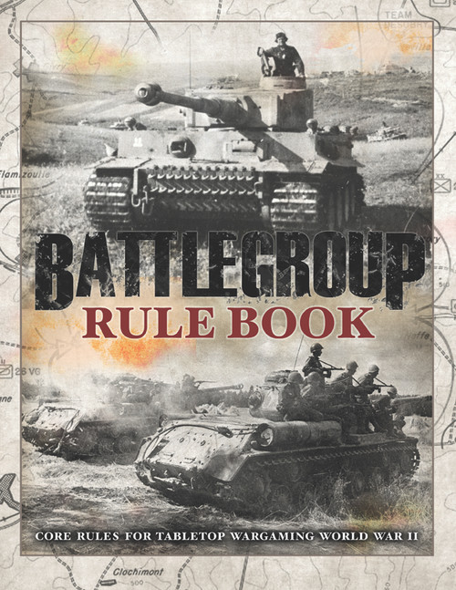 Battlegroup Ruleset - Soft back book