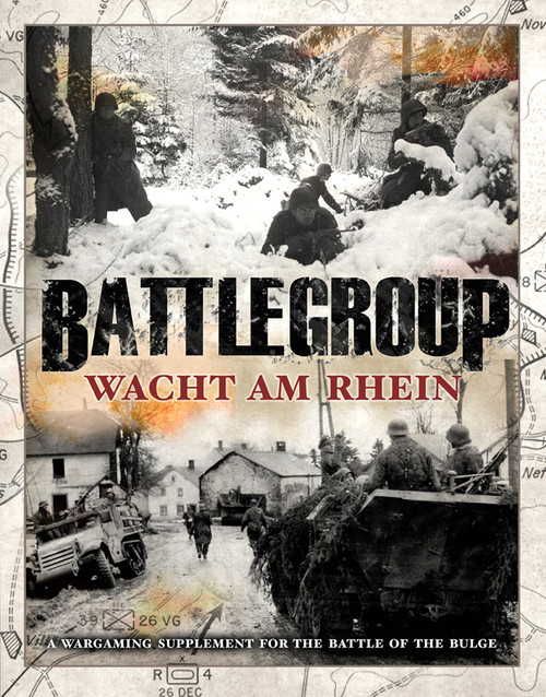 Battlegroup Wacht am Rhein  -Soft back book