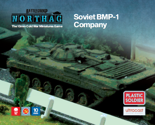 BMP-1 Company (10mm Scale)