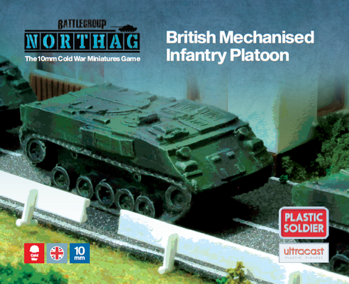 British Mechanised Infantry Platoon (10mm Scale)