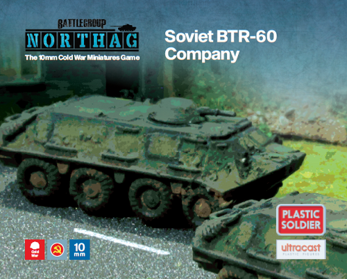 BTR-60 Company (10mm Scale)