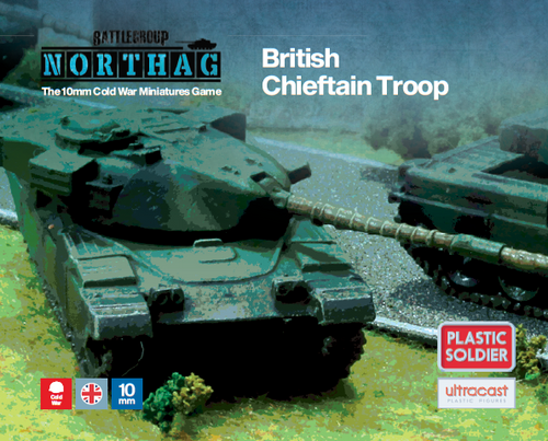 Chieftain Troop (10mm Scale)