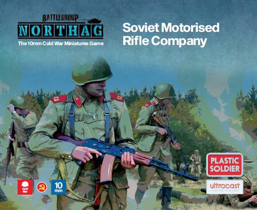 Soviet Motorised Rifle Company (10mm Scale)