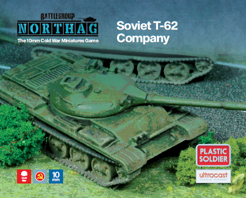 T-62 Company (10mm Scale)