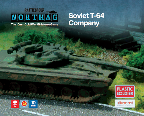 T-64 Company (10mm Scale)