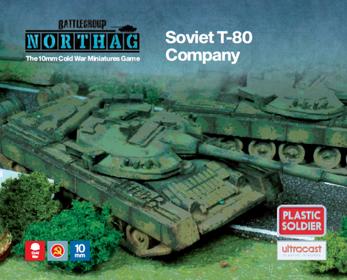 T-80 Company (10mm Scale)