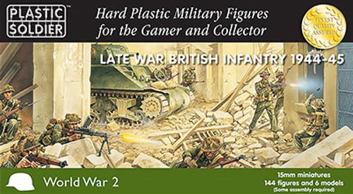 15mm Late War British Infantry 1944-45