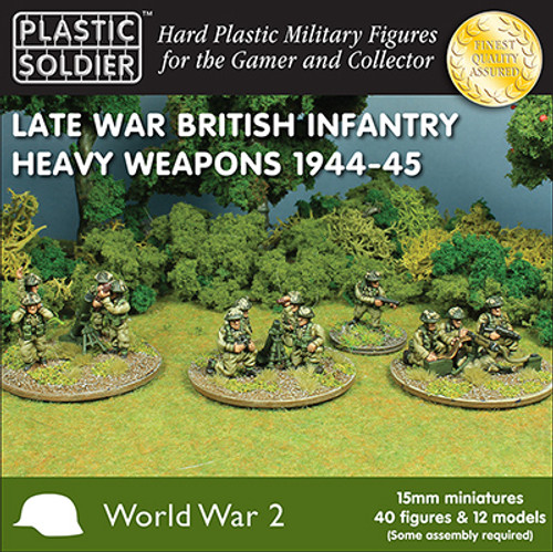 15mm Late War British Heavy Weapons 1944-45