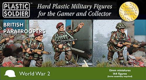 15mm British Paratroopers
