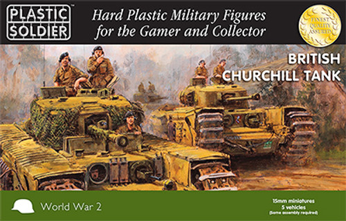 15mm Churchill Tank