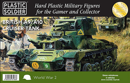 15mm British A9/A10 Cruiser tank
