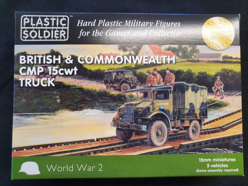 15mm British and Commonwealth CMP 15 cwt Truck