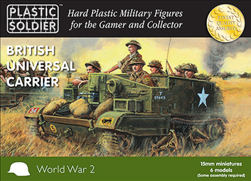 15mm British and Commonwealth Universal Carriers