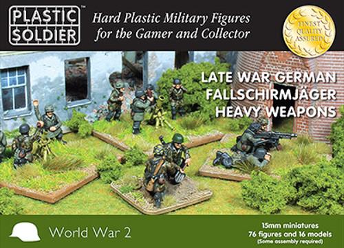 15mm German Falschirmjaeger Heavy Weapons