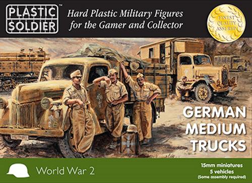 15mm German medium trucks