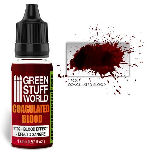 Coagulated Blood Effect Paint
