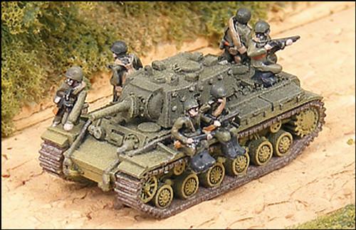 WWII Russian Tank Riders - R74