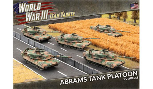 Team Yankee World War III: IPM1 Abrams Tank Platoon