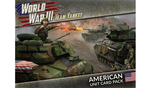 Team Yankee World War III: American Unit Card Pack
