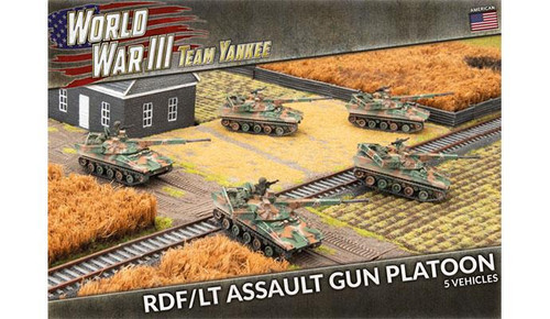 Team Yankee World War III: RDF/LT Assault Gun Platoon