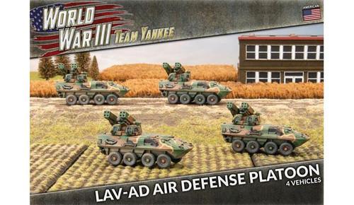 Team Yankee World War III: LAV-AD Air Defense Platoon