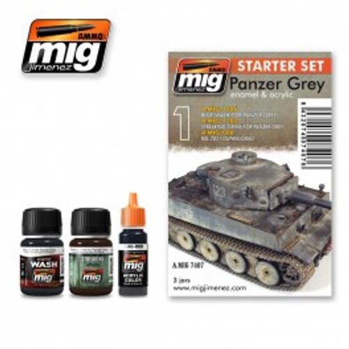 AMMO: Starter Set - Panzer Grey Set